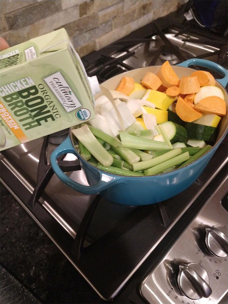 Veggie Bisque Ingredients