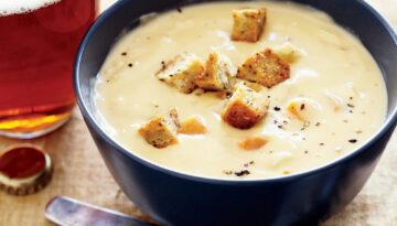 Omaha's Best Beer Cheese Soup
