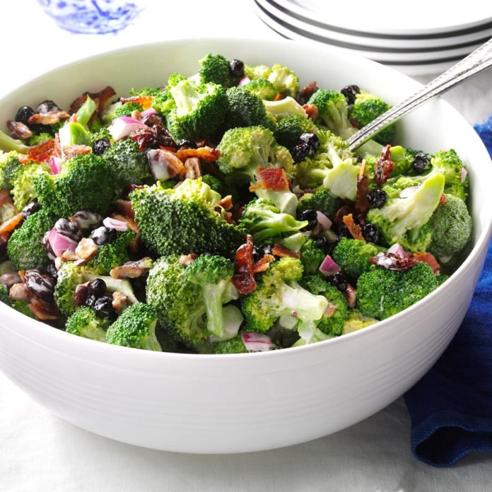 Awesome Toss Broccoli Salad with Major Bacon