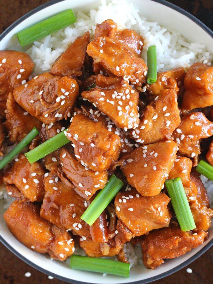 Mongolian Chicken Mongolian Beef