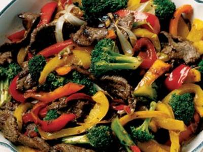 Hoisin Peanut Stir Fry