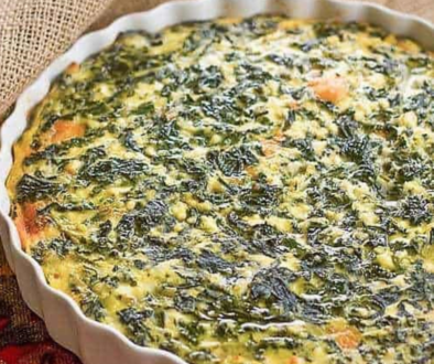Spinach Cheese Soufflé