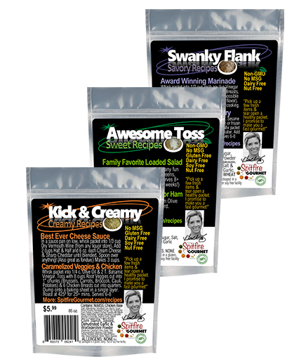 Awesome Toss Easy Recipe Base, Kick