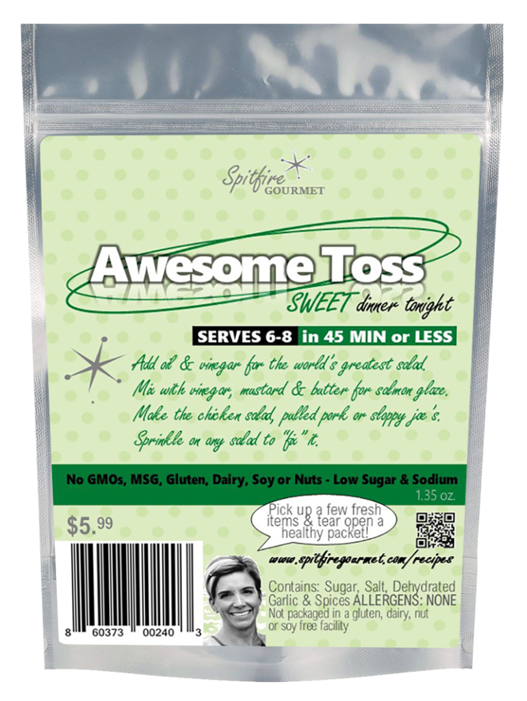 Awesome Toss - Recipe Base Packet