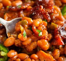 Sweet & Tangy Baked Beans