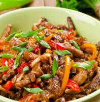 Savory Mu Shu Game Stir Fry