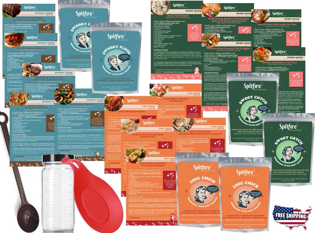 Spitfire Gourmet Meal Kit