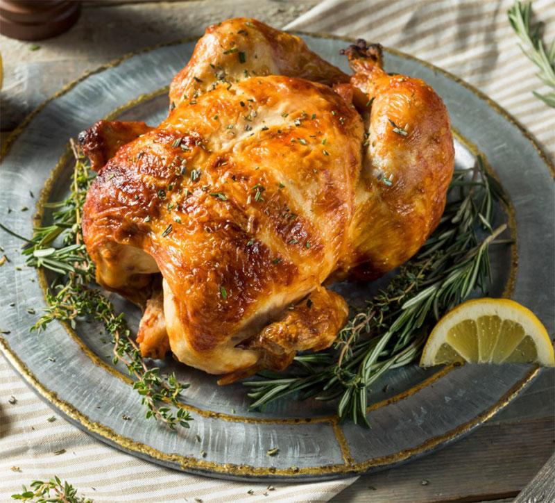 Savory Turkey or Whole Game Birds