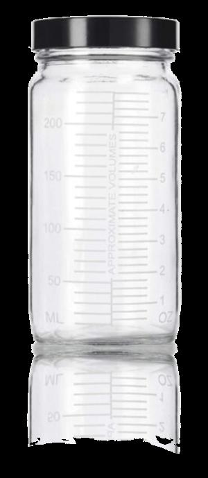 Glass Shaker Jar