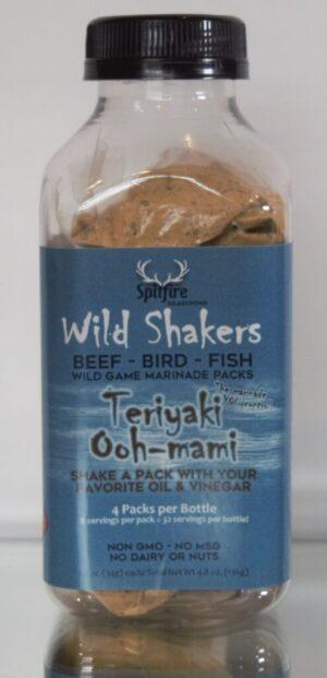 Teriyaki Ooh-mami WILD SHAKERS Marinade Packs