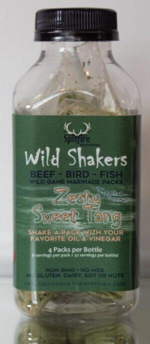 Zesty Sweet Tang WILD SHAKERS Marinade Packs