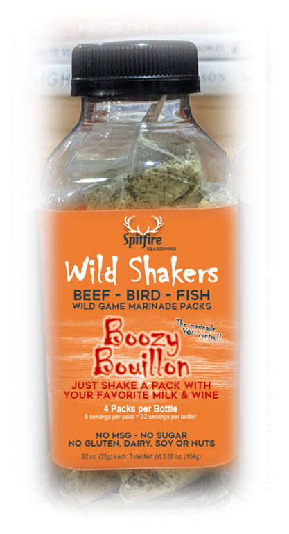 Boozy Bouillon - Recipe Base Packet
